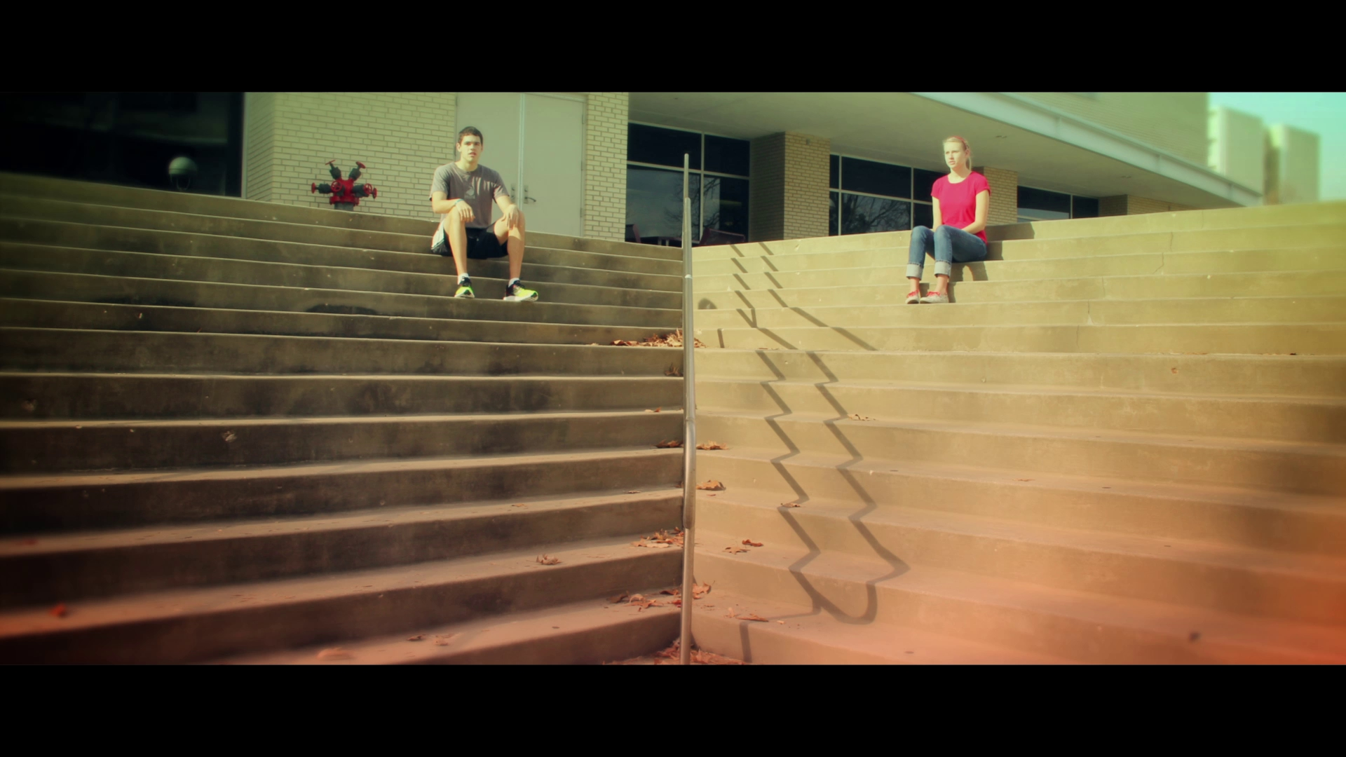 """A thumbnail for the """"Stairs"""" Short Film"""