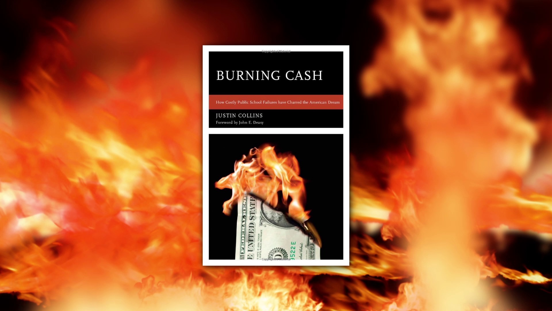 A thumbnail for the Burning Cash promotional video