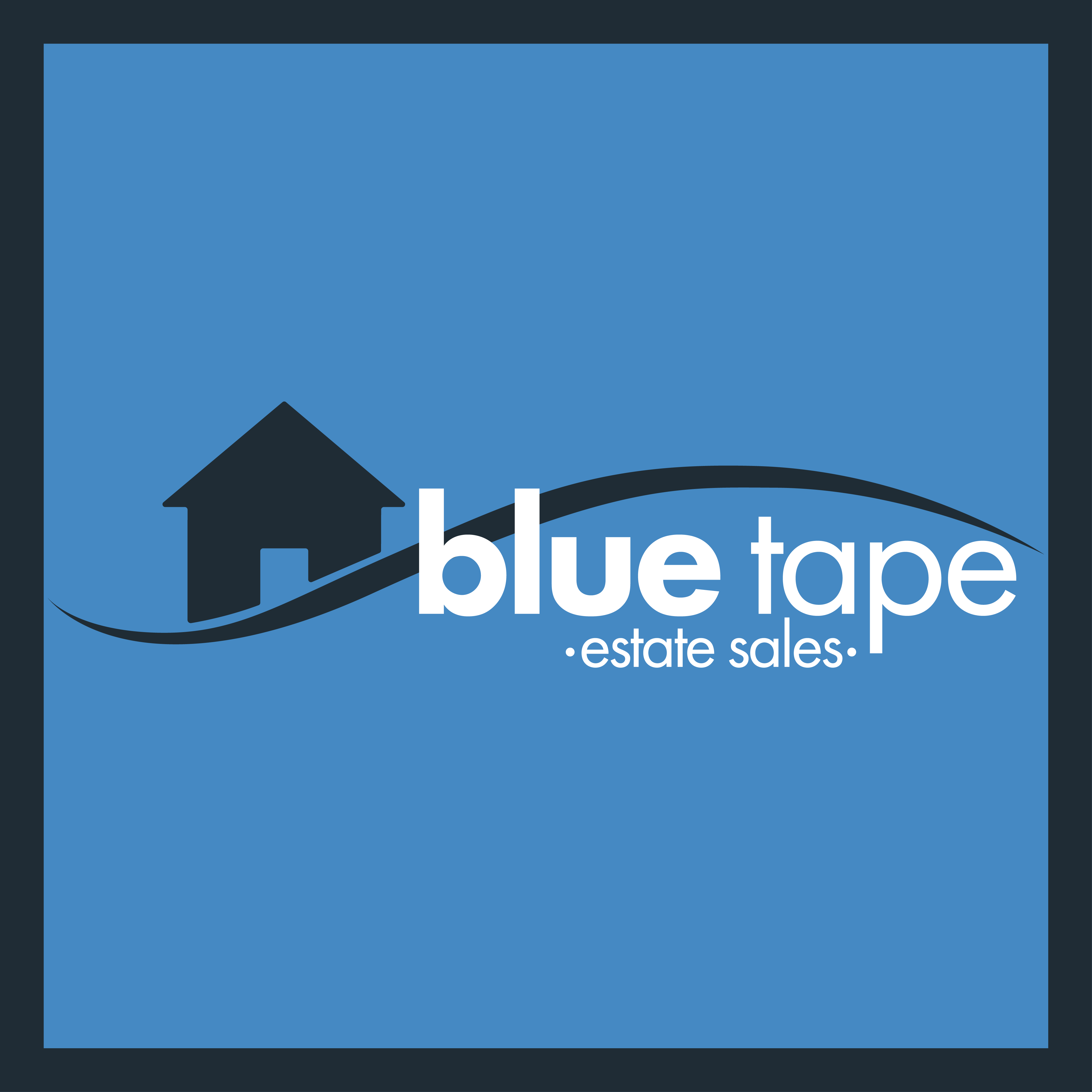 Blue Tape Estate Sales- Facebook Profile Picture
