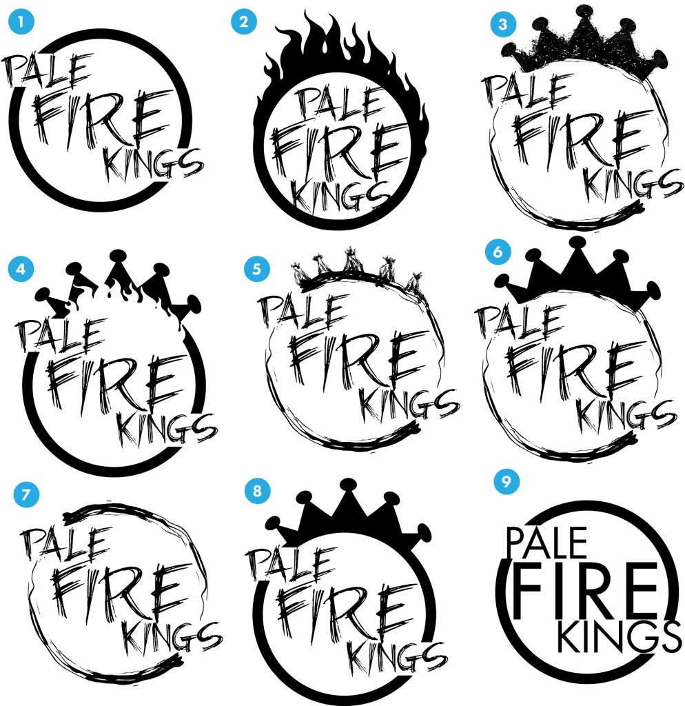 Pale Fire Kings Logo Ideas 2